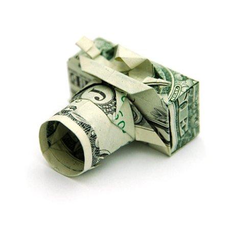 pinigėlis - fotoaparatas