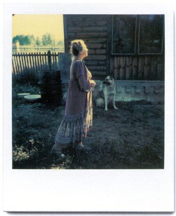režisieriaus A.Tarkovskio polaroidas
