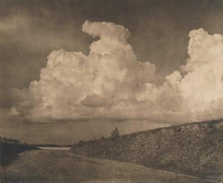 Bohdanów - pejzaż z drogą, 1925