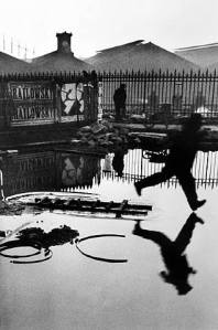 Bresson. Behind the Gare St. Lazare