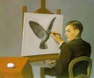 clairvoyance_(self-portrait)-large_Margritte