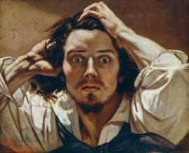 Self Portrait Gustave Courbet